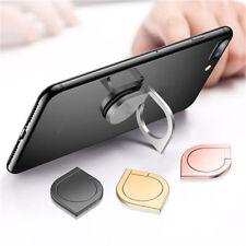 3 in 1 Fingertip Gyro Phone Finger Ring Fidget Spinner Phone Stand Holder Silver
