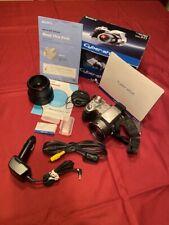 Sony Cyber-shot DSC-H1 5.0MP Digital Camera - Silver/Black