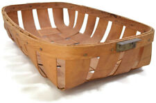 Primitive Basket with Metal Handles
