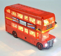 Led Light Kit For 10258 Creator London Bus Double Building Blocks Bricks