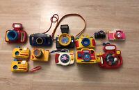Vintage Fisher Price Playskool Camera Toy Lot Of 12