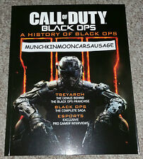 NUOVO Ufficiale Call Of Duty una storia di BLACK OPS 122 PAGINE A COLORI PROMO BOOK