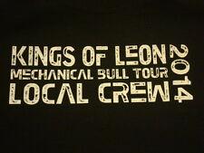 Kings of Leon Mechanical Bull Tour 2014 Local Crew T-shirt