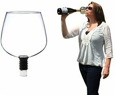 Guzzle Buddy Turns Bottle Wine Into Glass Drink Simply Remove Cork Gently Screw