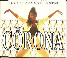 CORONA I don't Wanna Be A Star 5TRX w/ RARE EDITS & MIXES CD single SEALED 1995