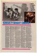 China Crisis UK Interview 1985