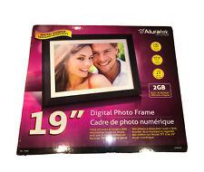 Aluratek 19 Inch Digital Photo Frame with 2GB Built-in Memory