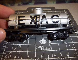 HO VINTAGE Model Train EXAC Tanker car excellent condition fun collectible