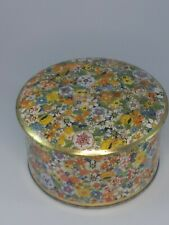Vintage Floral Tea Time By Daher Made In England