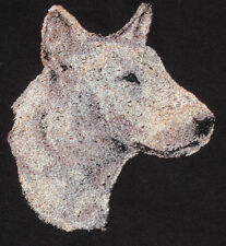 Embroidered Fleece Jacket - Bull Terrier Aed14969 Sizes S - Xxl