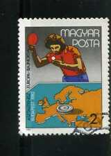 table tennis.-  CAMPIONSHP, BUDAPEST,- HUNGARY ,- STAMP 1982