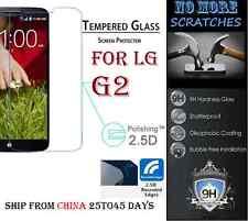 2.5D 9H REAL Tempered Glass Screen Protector LG G2 Vitre Trempé protecteur ecran