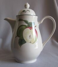 Coffee / Teapot Tea Pot Noritake China Keltcraft Apple Crisp Pattern