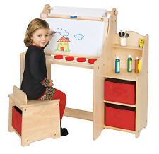 Guidecraft G51032 Kids Artist Activity Desk for boys and girls chldren's artwork
