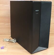 *REPLACEMENT* Philips (HTS3555) Solid Black Wired Subwoofer W/ Purple Wire *READ