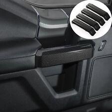 15-21 Ford F150 Molded Carbon Fiber Interior Door Handle Pull Cover Trim Bezel