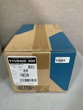 *New* DuPont White Tyvek 400 Ty120Swh2X002500 Coveralls Protective Suits Size 2X