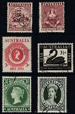 Australia 1950 - 1960 Stamp Centenary issues  for each state  good used