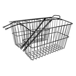 Wald Products Basket 535Gb Twin Rear Large 18X7X12 Black