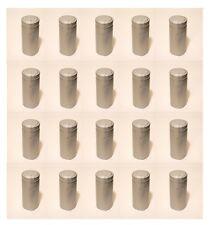 SHRINK CAPSULES 25 LARGE SILVER METALLIC PVC HEAT SEALS FOR JUMBO WINE BOTTLES