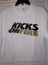Kicks On Fire Sneaker Shirt Gold Medal Men's Small Nwot! Limited Edition