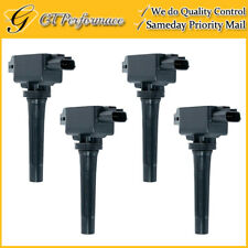 OEM Quality Ignition Coil 4PCS for 12-18 Mazda 3/ 6/ CX-5/ MX-5 Miata 2.0L 2.5L