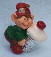 Hallmark Thimble Elf Christmas Ornament 6th in Series Collector's 1983 B6