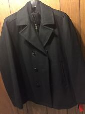 Men's winter pea coat INC Brand (Macy's) . New with Tags. Black  LRG
