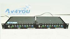Lot (2) Symetrix SX201 Parametric Equalizer  Preamp, EQ - only 1 power supply #1
