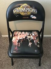 WWE Night of Champions 2008 Ringside VIP Chair HHH Edge Jericho