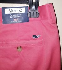 Vineyard Vines Performance Golf Pants: 36×32 (NWT)