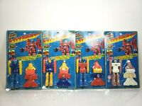 Lot of 4 Rare 1980s Sunrise Anime Space Runaway Ideon Robots Japan MOC
