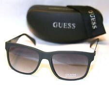 Genuine GUESS GU6760-5797B Men's Square Sunglasses Gradient Lens DARK GRAY NEW!