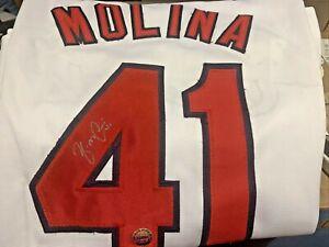 Yadier Molina St. Louis Cardinals Signed Autographed Custom Baseball Jersey