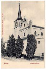 Niederschlesien REINERZ / Duszniki-Zdrój / Katholische Kirche * AK um 1900