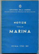 Notizie sulla Marina - Ministero della Marina. Direzione generale del personale