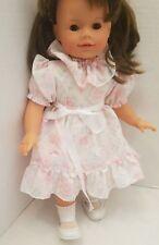 "Gotz Puppe Yolanda Sweet German 18"" Girl Doll Brown Eyes Hair Jack & Jill Store"
