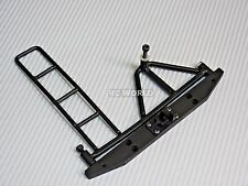 RC Truck METAL REAR BUMPER Tire Carrier W/ LADDER + TOW HITCH For Gelande  D90