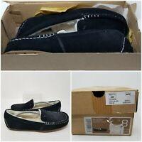 Koolaburra By Ugg Lezly Black Flats Slip On Slippers Shoes Women's Size 8
