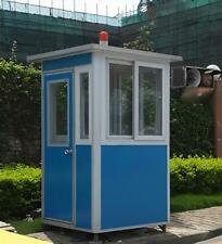 New 4'x4' Security / Ticket / Valet Parking Booth Prefabricated  Office / Kiosk