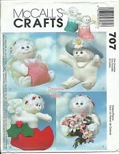 M 3310 sewing pattern Dreamsicles ANGEL HUGS Holiday DOLL BOOT HAT BOX sew UNCUT