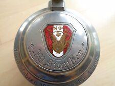 Bierkrug Mettlach V&B Pin NSU V N F M Motor Wanderfahren 1921 1278 km 1. Preis