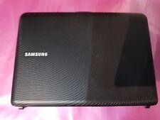 SAMSUNG NB30 NETBOOK TOP SCREEN/LID/DISPLAY COVER PLASTICS BLACK GRADE A USED
