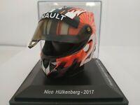 1/5 CASCO NICO HULKENBERG 2017 HELMET COLECCION F1 FORMULA 1 A ESCALA
