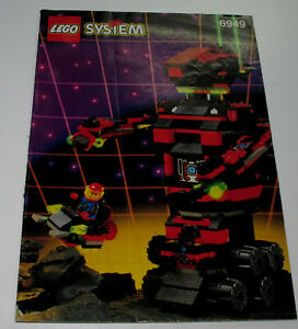 Lego System 6949 Instruction Manual Only