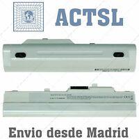 Batería para portátil MSI LG X110 Blanca BTY-S11 BTY-S12 11.1v 4400 mAh Blanca