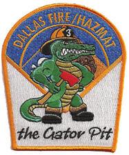 "Dallas Haz Mat ""The Gator Pit"" Fire Patch"