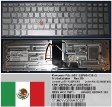 Qwerty Keyboard Latino HP EliteBook 8560W 9Z.N6GBF.B1E 690647-161