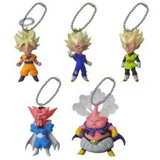 RARO DRAGONBALL Set Completo 5 Mini FIGURE UDM Burst 06 DANGLER Bandai Gashapon