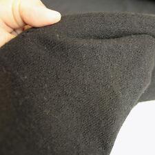 schwarzer Designer Strick Jersey Herbst Winter-Stoff weich warm Kleid Rock Tolko